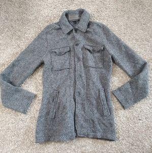 John Varvatos USA Cardigan Sweater Pockets Buttons